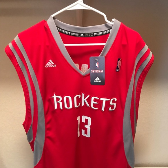 new concept 3c3eb 4ea47 Official Adidas James Harden Rockets Jersey NWT